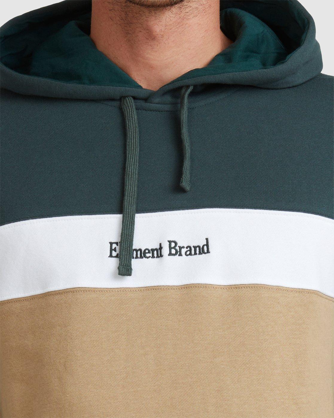 4 Alder Hoodie Green 107303 Element