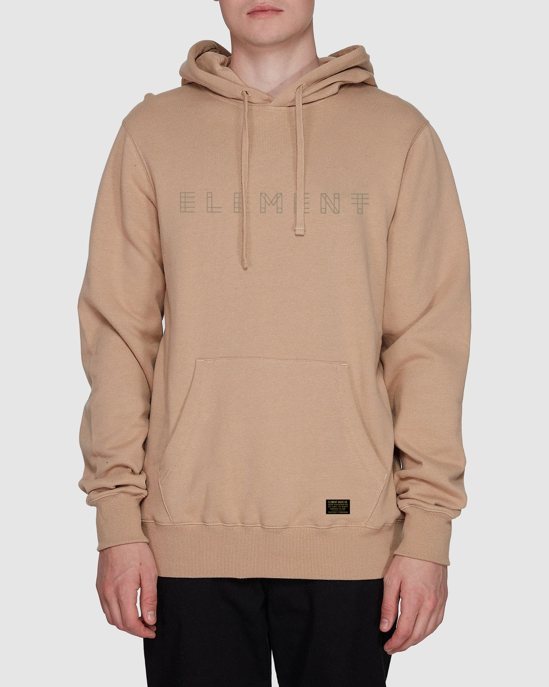 0 Metz Hood Fleece Grey 107304 Element