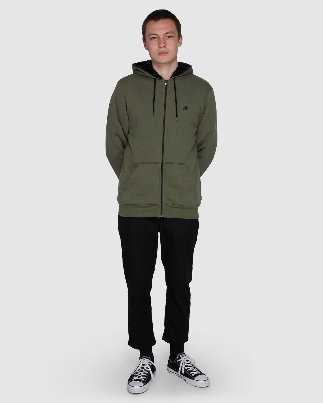 3 Cornell Jacket Green 107305 Element