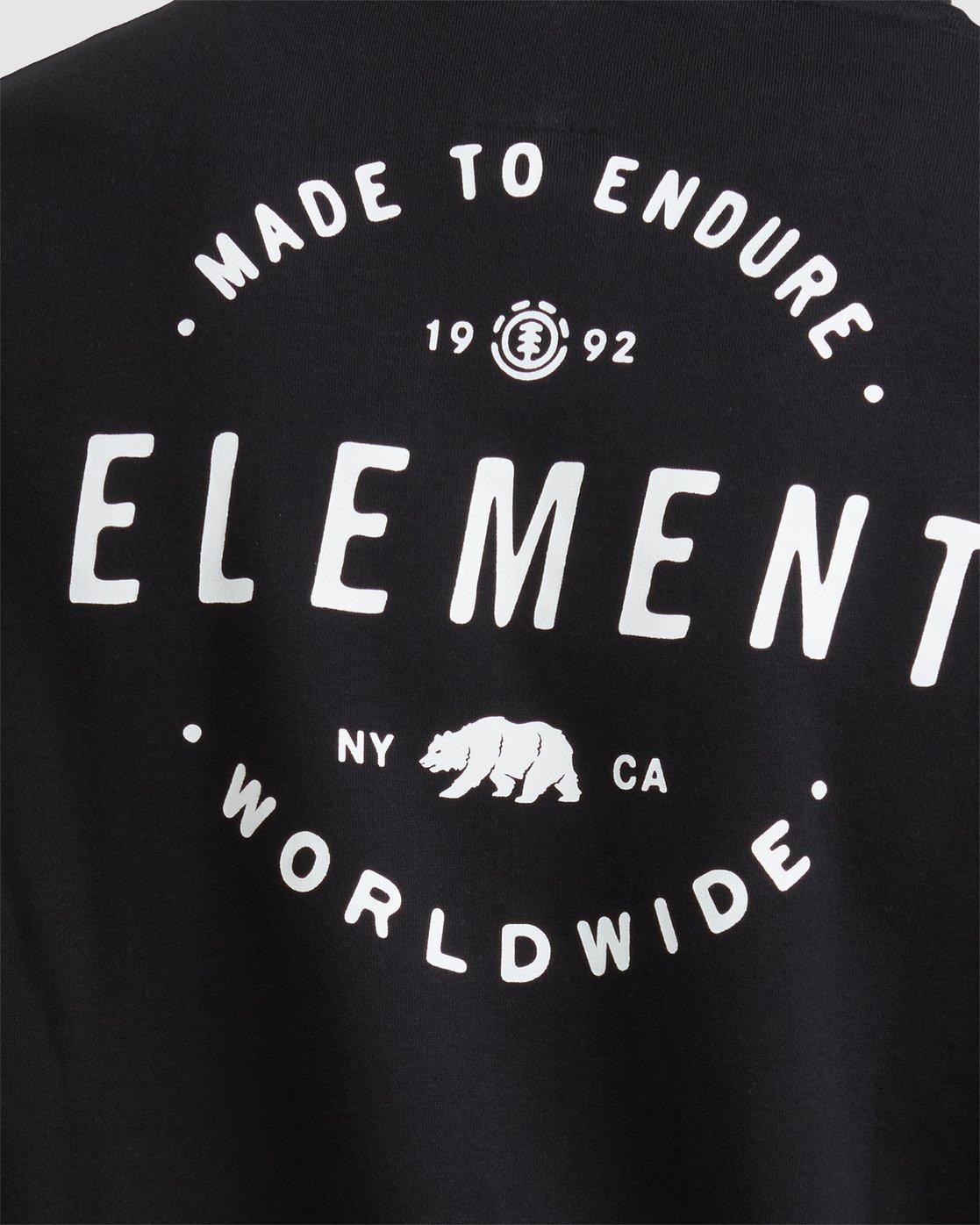 3 NYCA ENSURE HOODIE Black 107324 Element