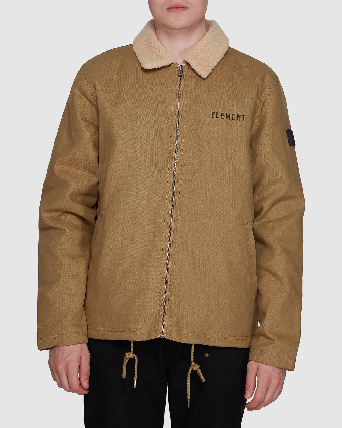 0 Murray Work Jacket Brown 107457 Element