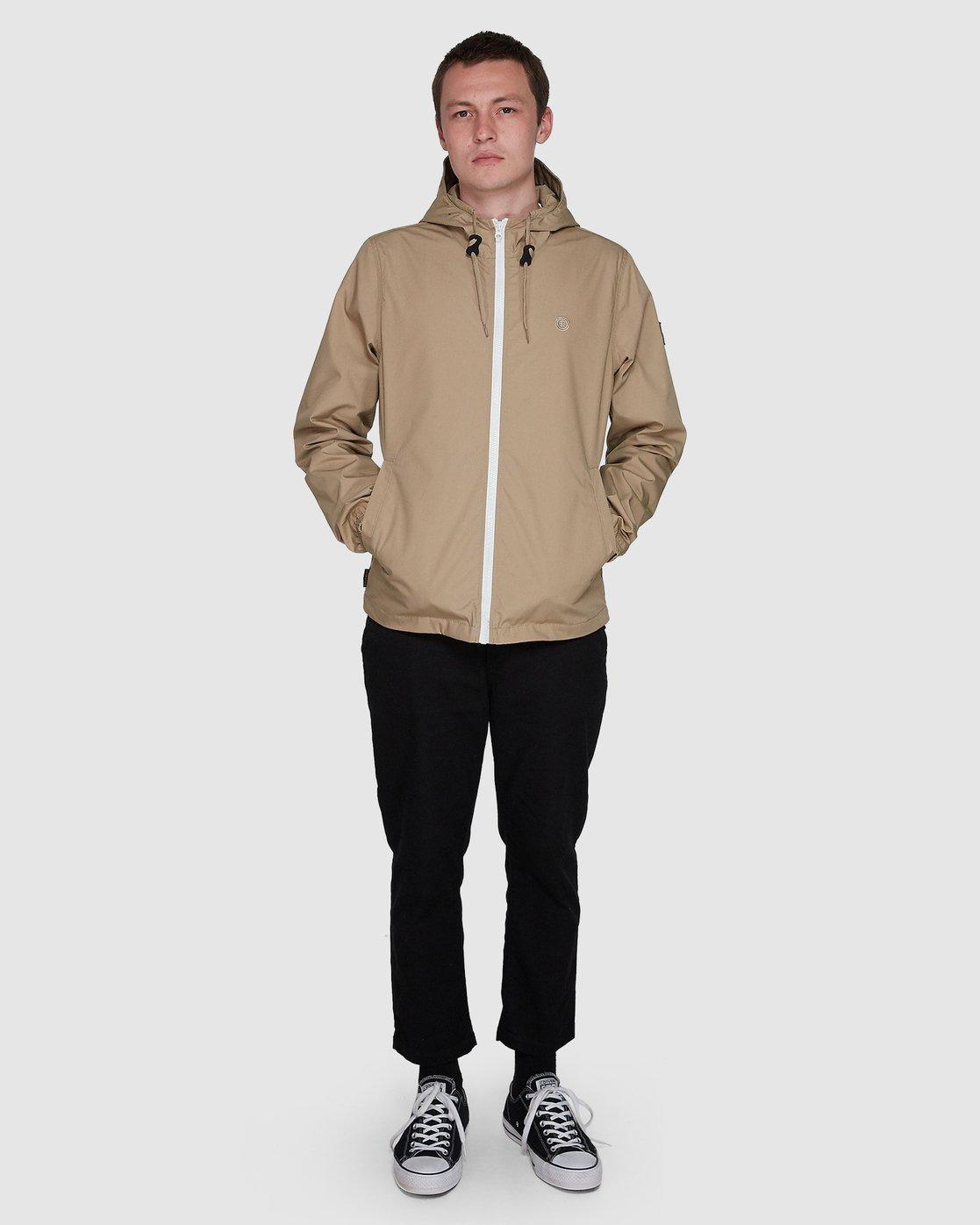 3 Alder Light  Jacket Grey 107461 Element