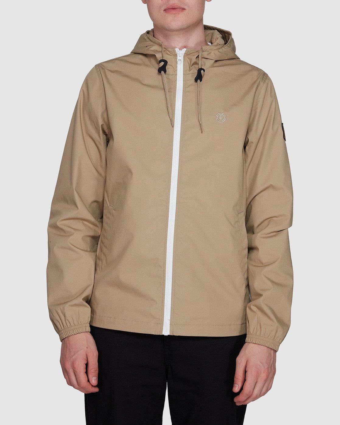 0 Alder Light  Jacket Grey 107461 Element