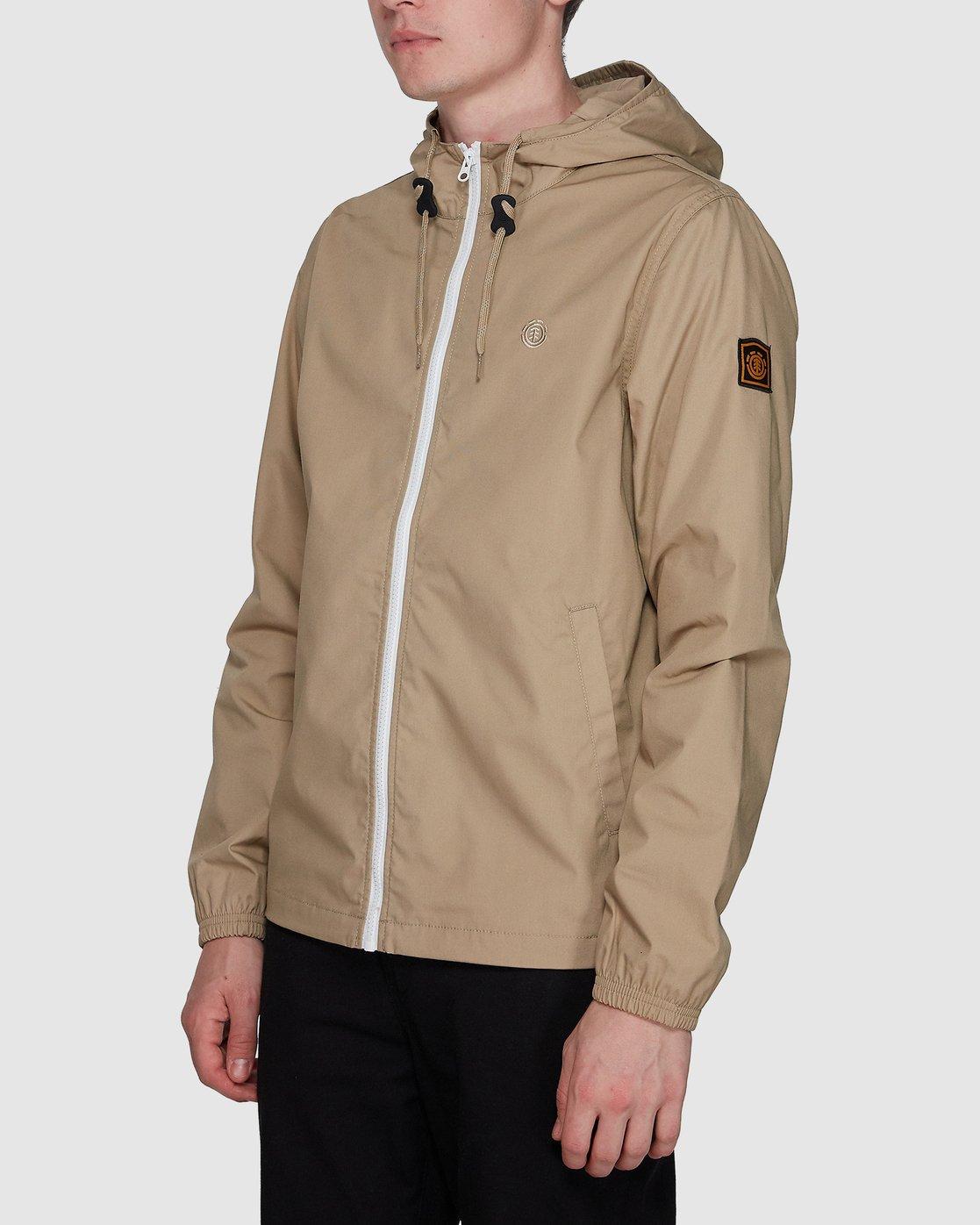 2 Alder Light  Jacket Grey 107461 Element
