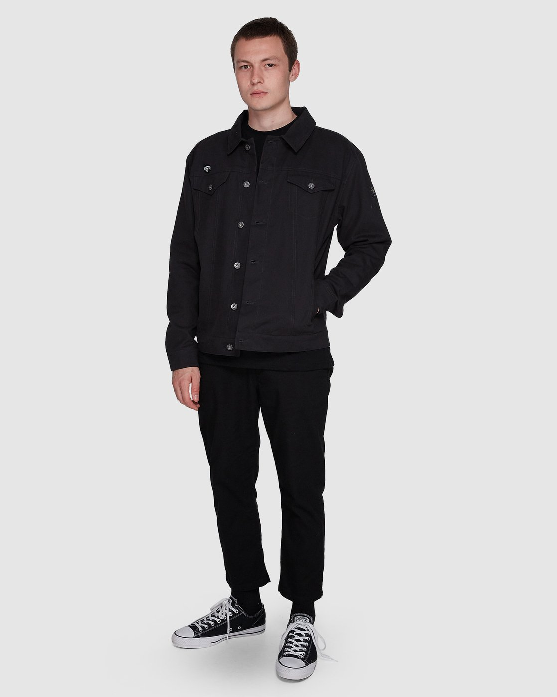 3 Brainstorm Jacket Black 107465 Element