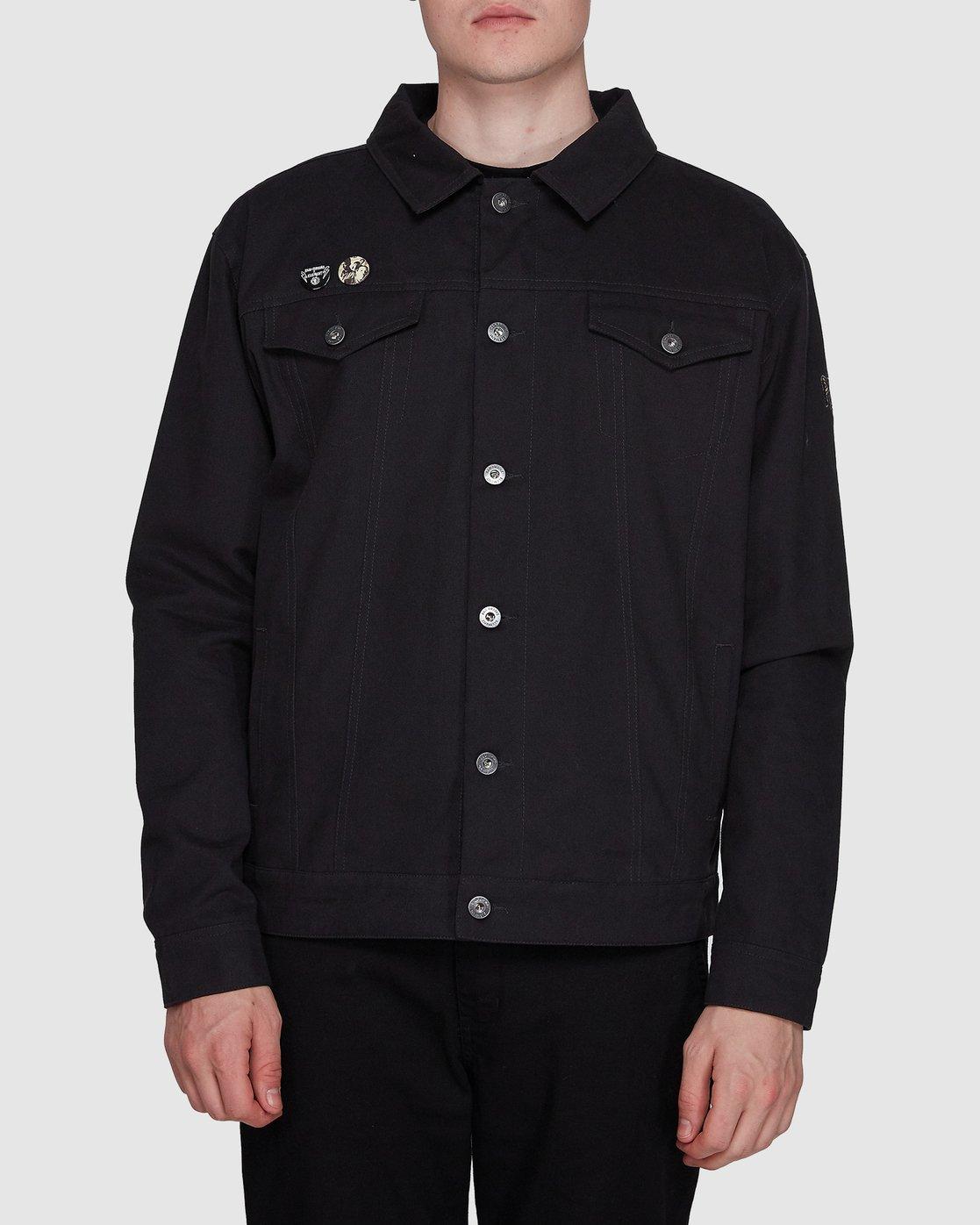 0 Brainstorm Jacket Black 107465 Element
