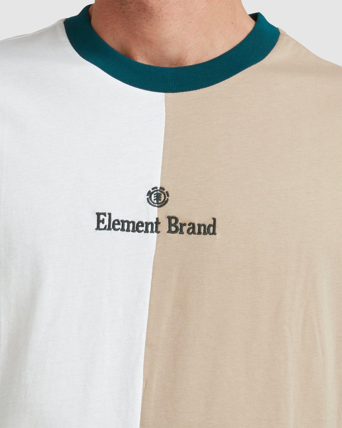 4 BLOX SHORT SLEEVE T SHIRT Grey 117010 Element