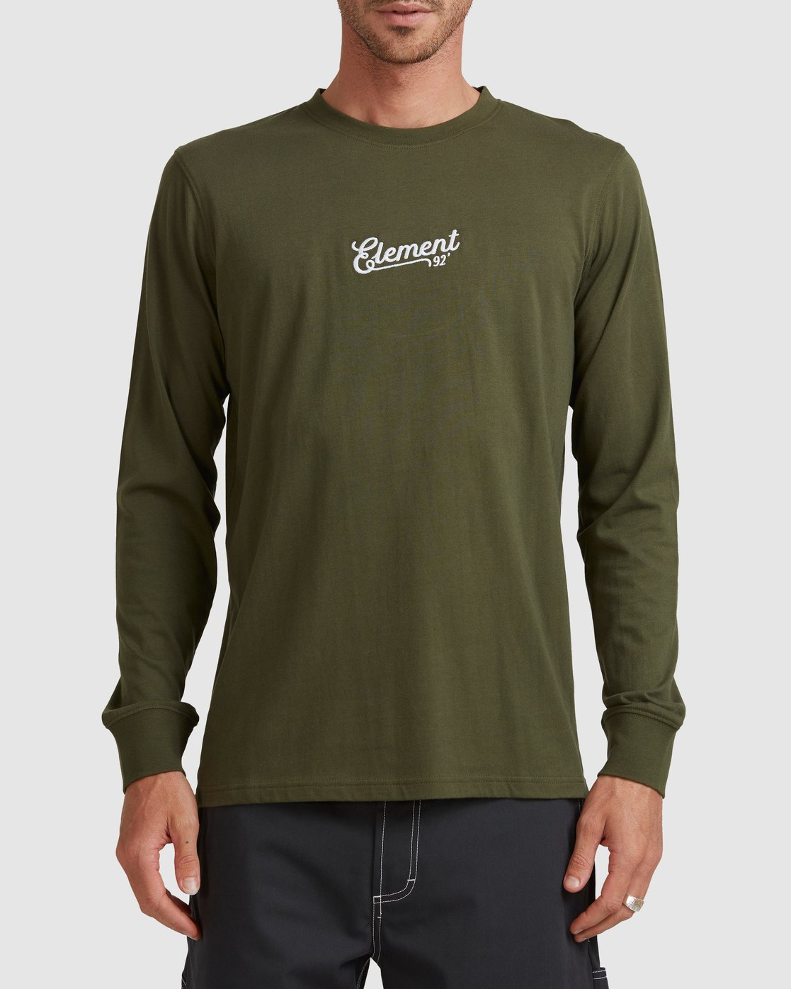 1 SIMPLE TRUTH LONG SLEEVE TEE Green 117053 Element