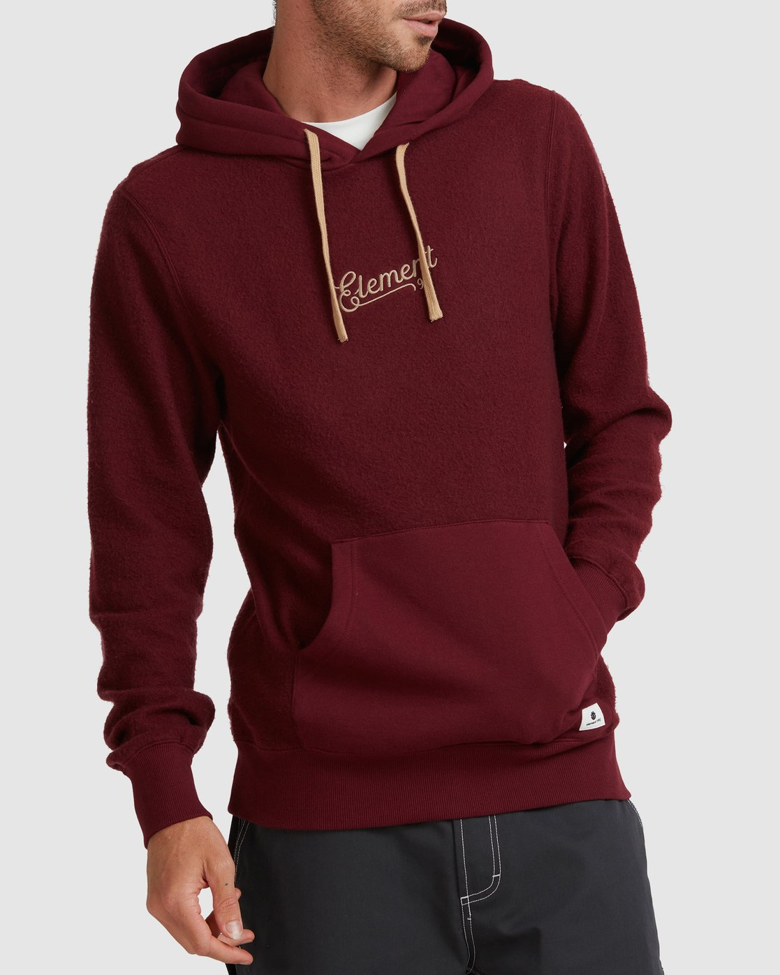 0 SIMPLE TRUTH HOODIE Red 117307 Element