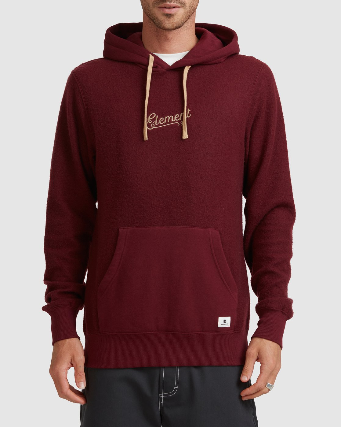 1 SIMPLE TRUTH HOODIE Red 117307 Element