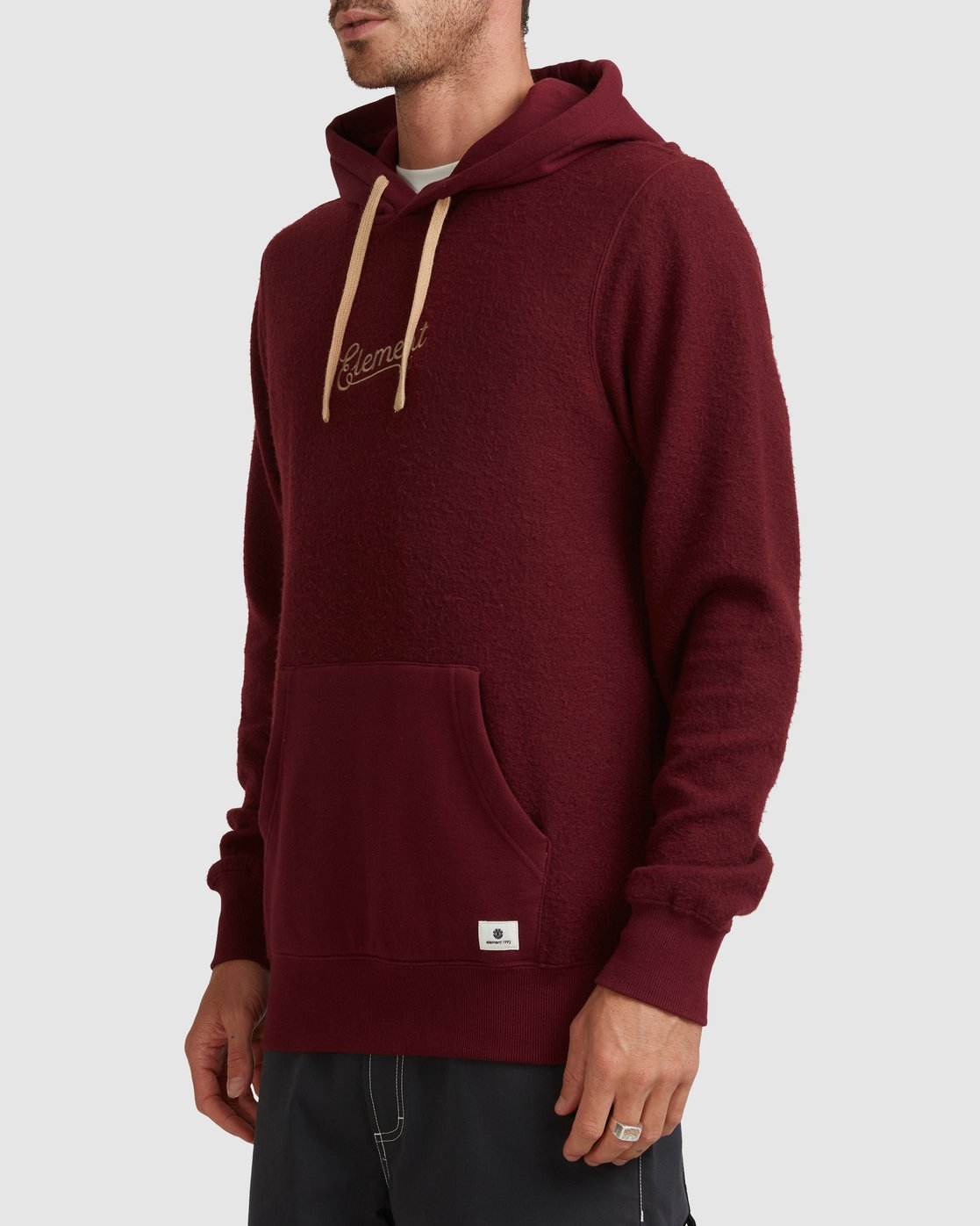 2 SIMPLE TRUTH HOODIE Red 117307 Element