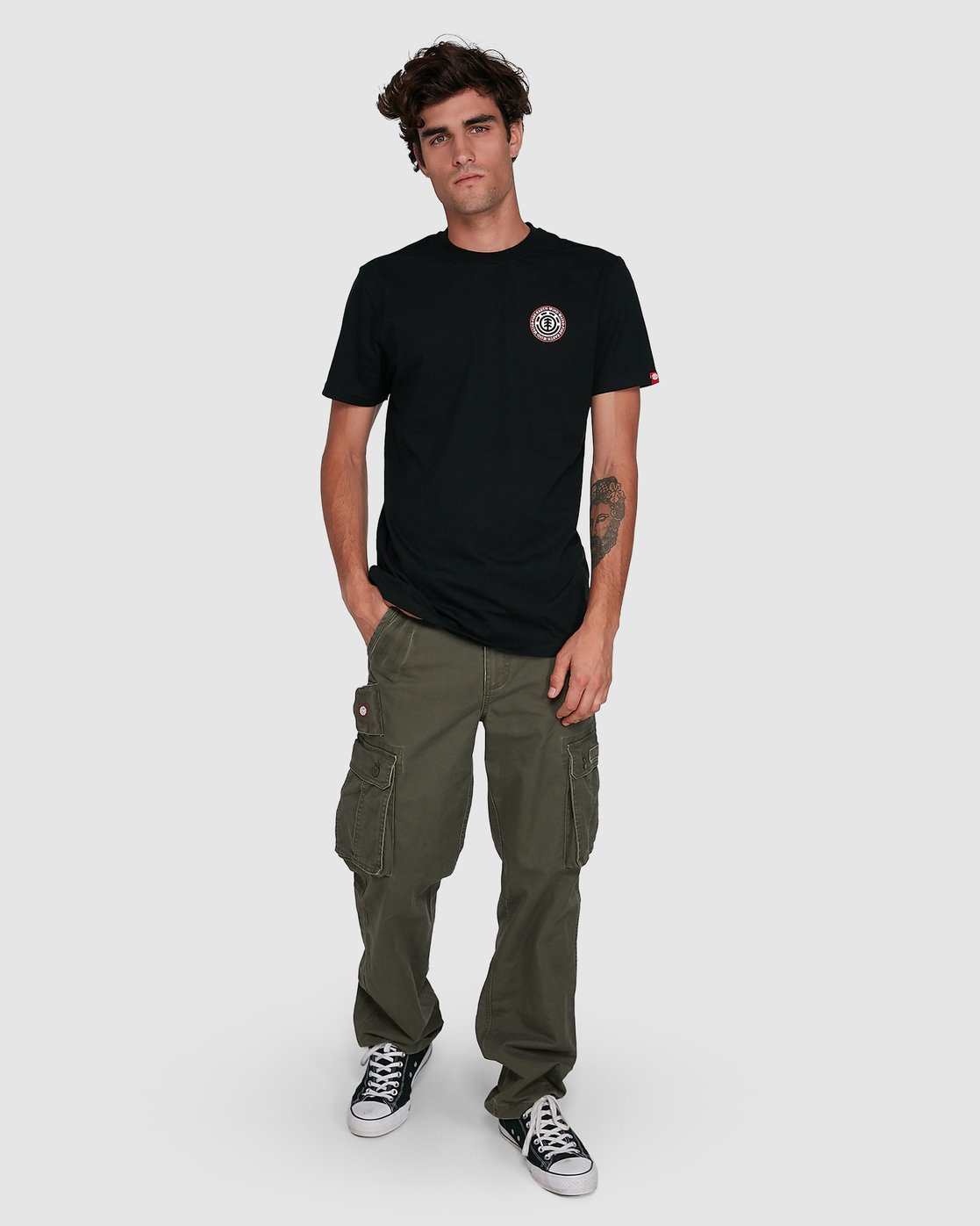 8 Source Cargo Pant Green 134243 Element
