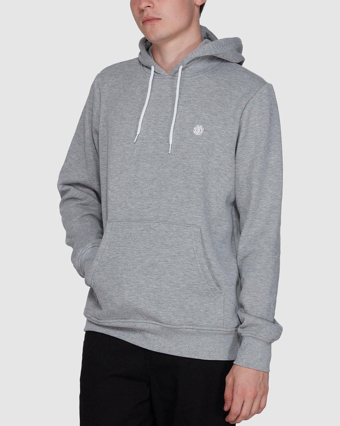 1 Cornell Classic Hoodie Grey 176303 Element