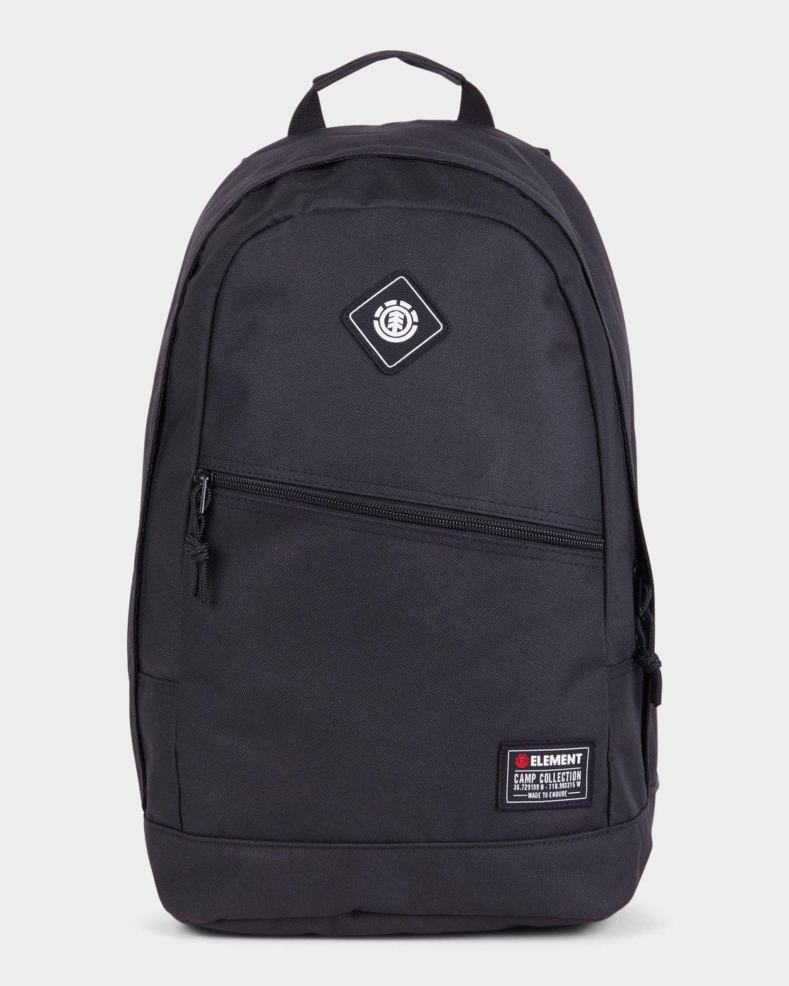 0 Camden Backpack Black 183484 Element