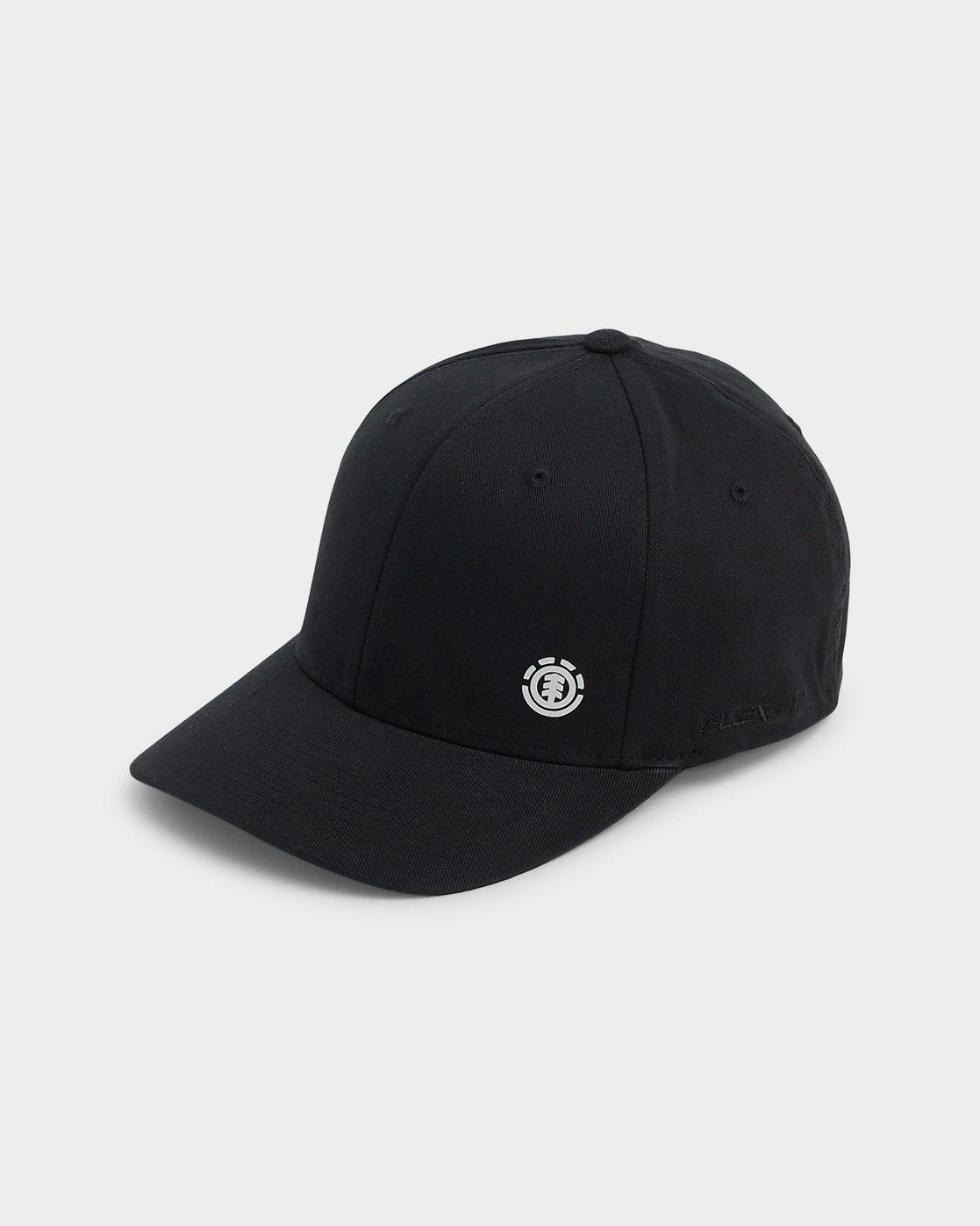 3 Sideline Cap Black 183602 Element