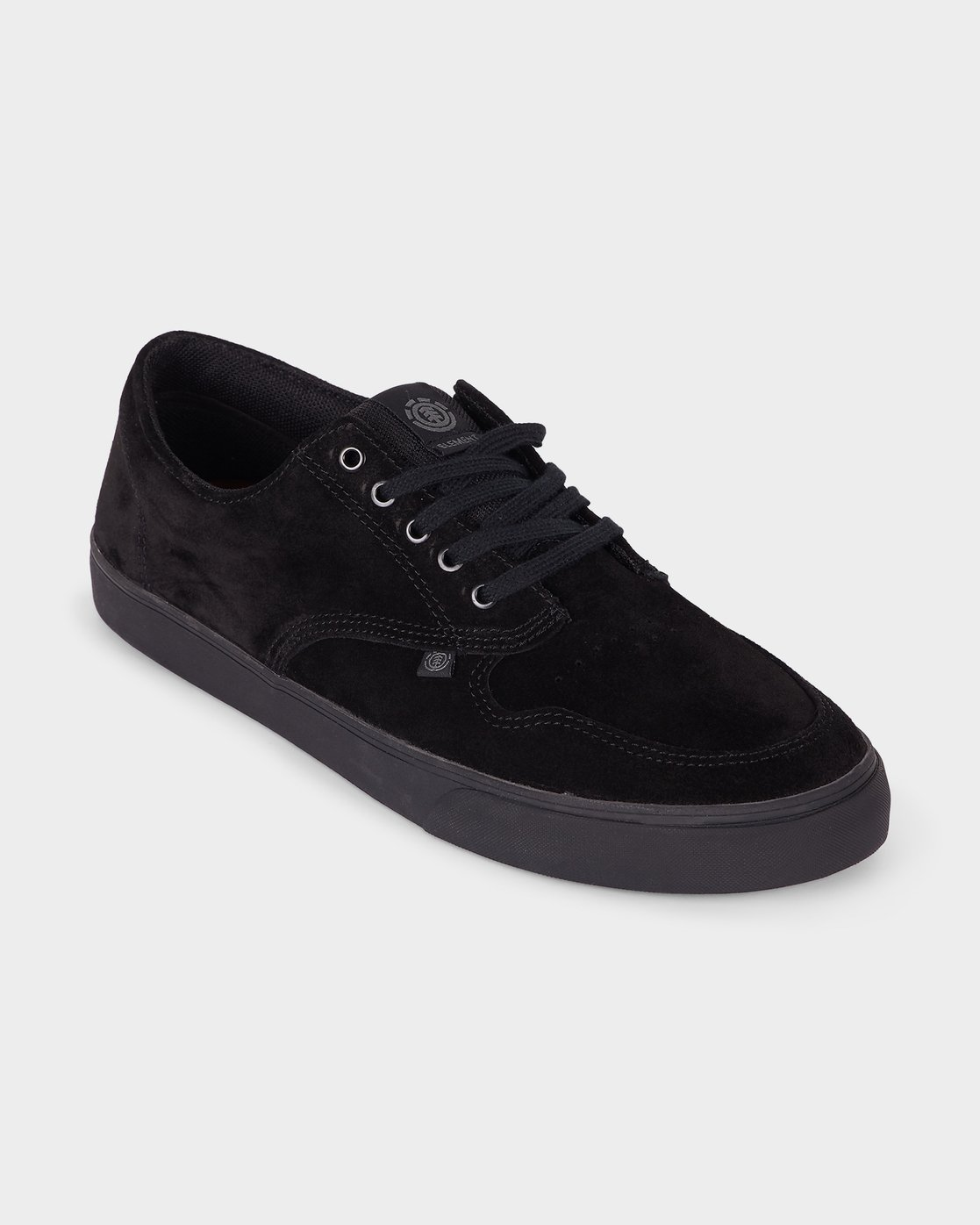 0 Topaz C3 Suede Sneakers Black 183902 Element