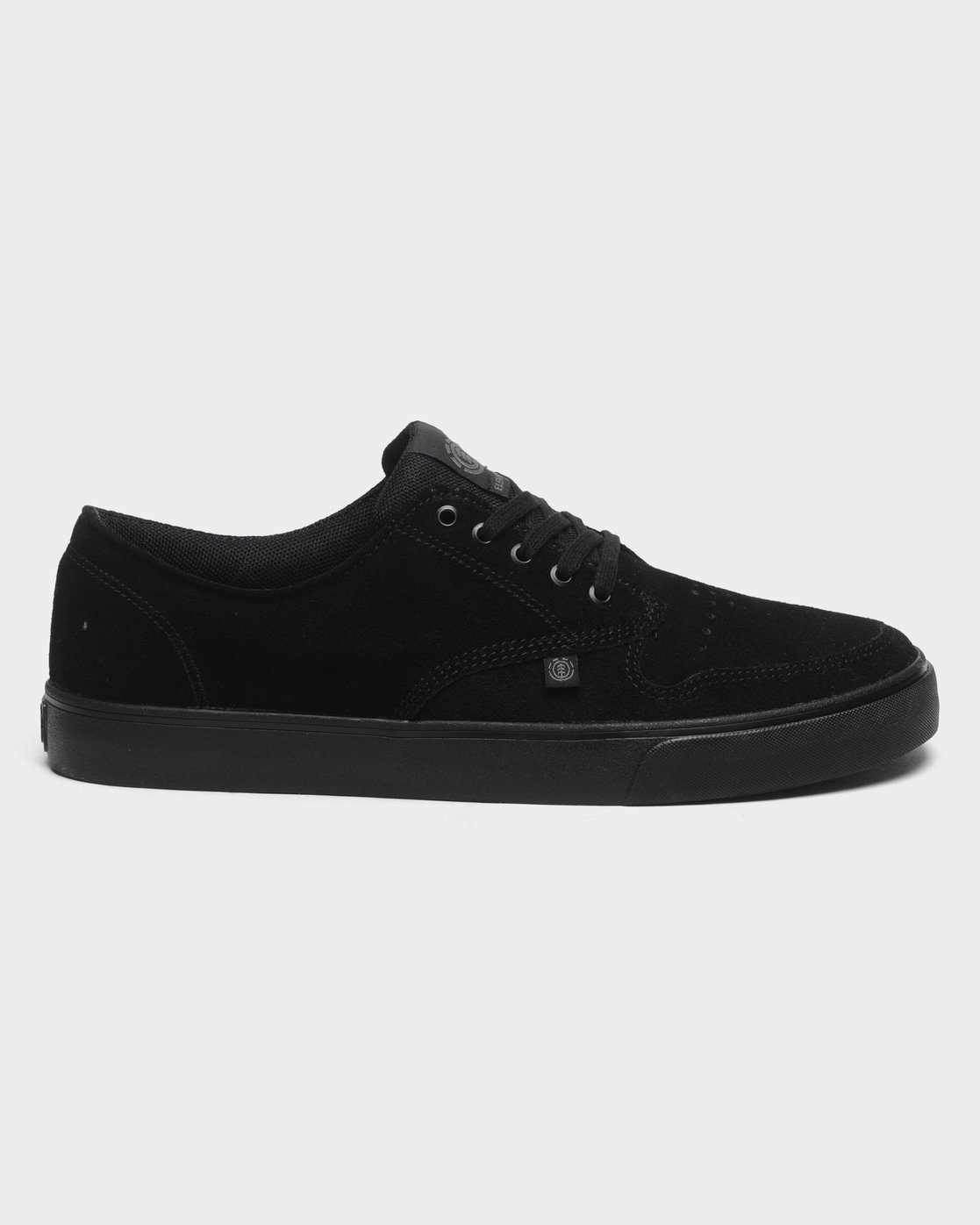 3 Topaz C3 Suede Sneakers Black 183902 Element