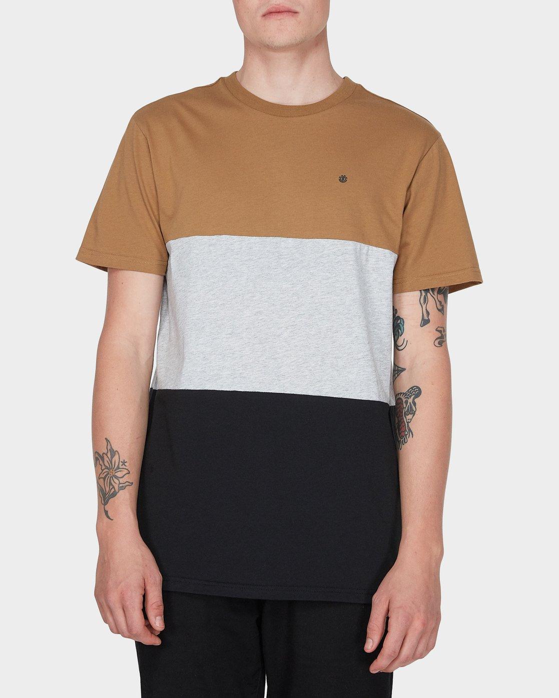 0 Fos Short Sleeve Tee Yellow 184005 Element