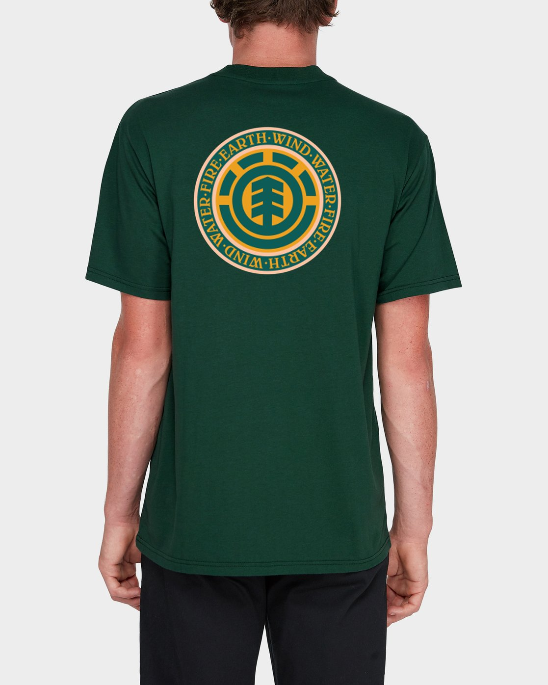 1 Seal Back Short SleeveTee Green 184014 Element
