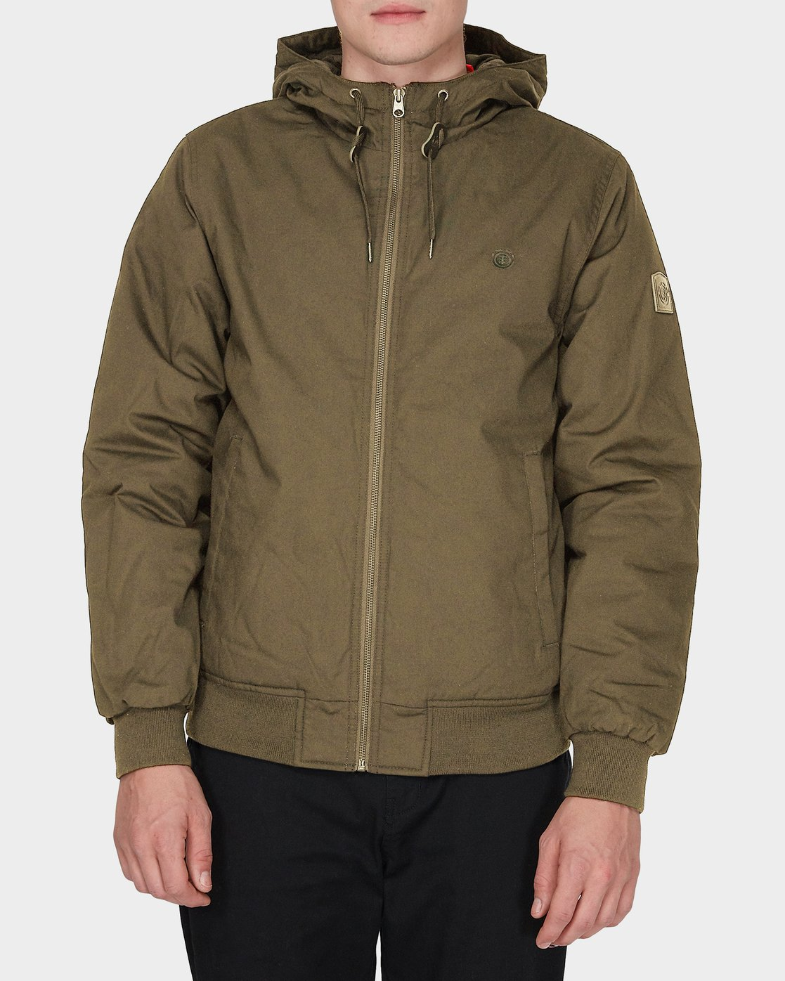 1 DULCEY JACKET Brown 186454 Element