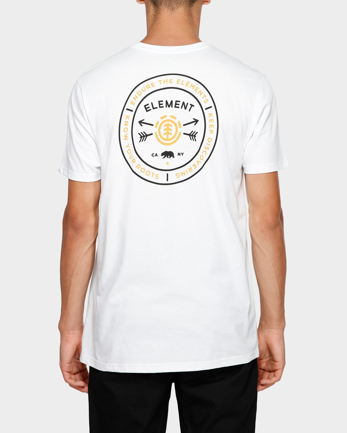 1 Know Your Roots Short Sleeve Tee White 193001 Element