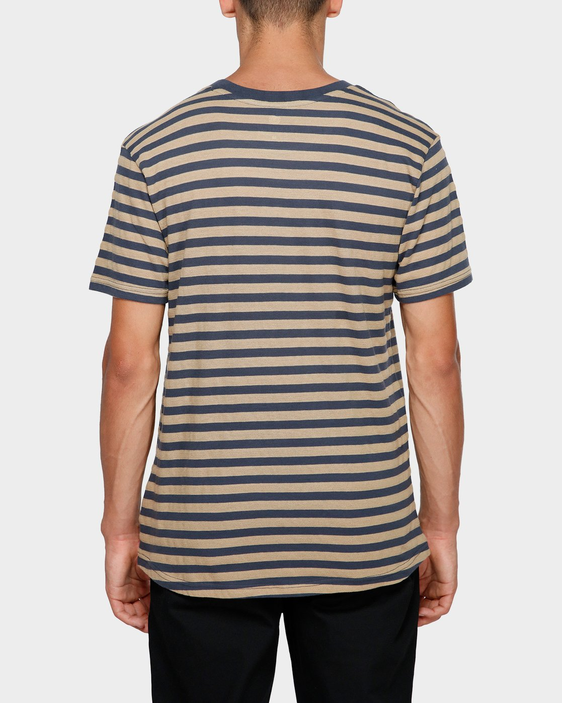 1 Manual Stripe Tee Beige 193002 Element