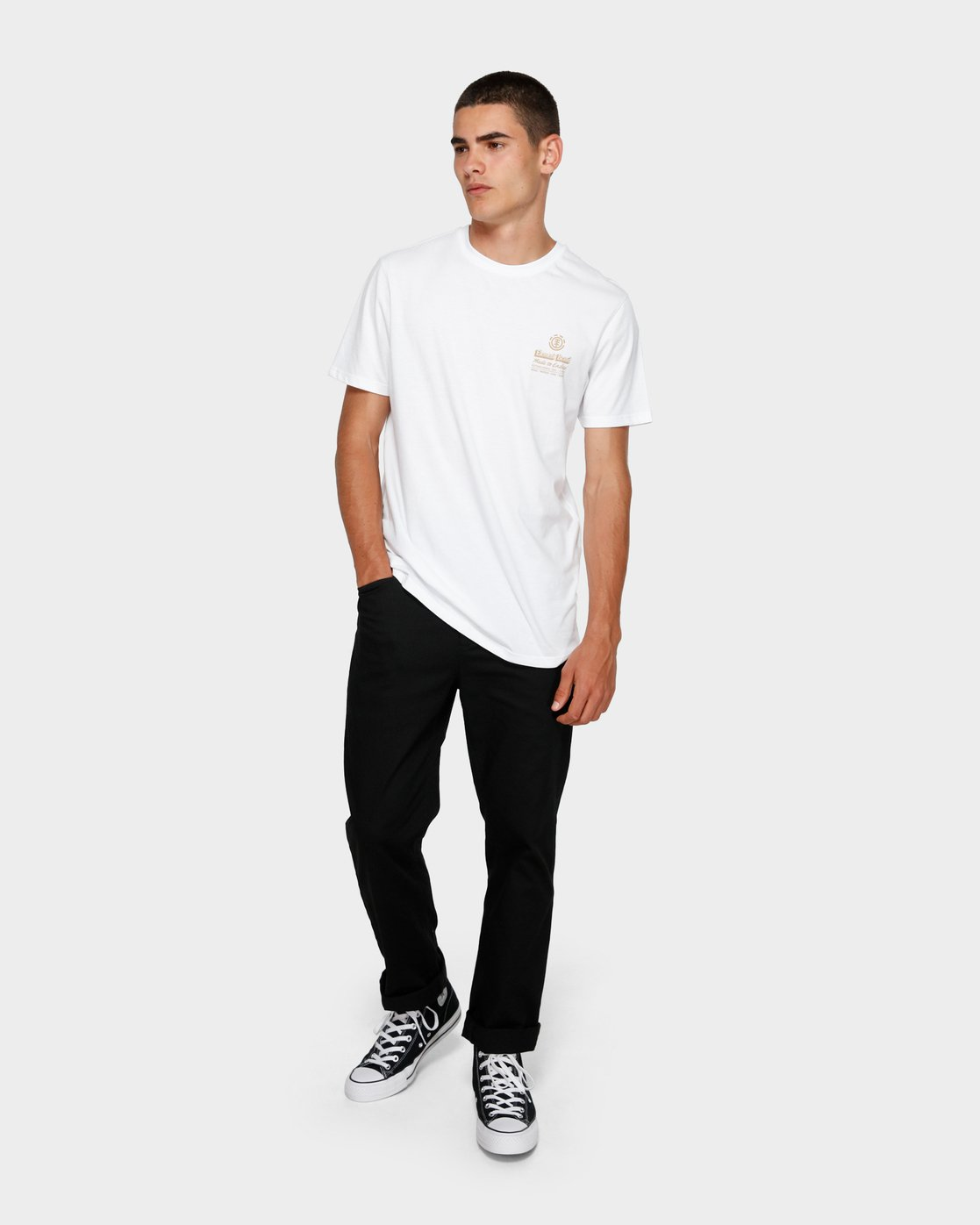 3 Fastplant Short Sleeve Tee  193003 Element