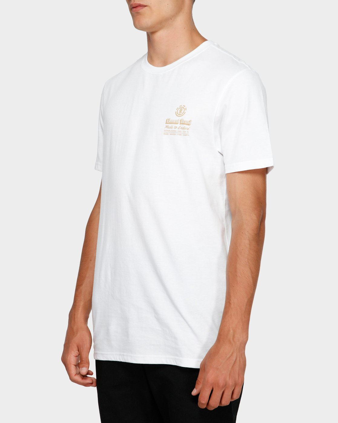 2 Fastplant Short Sleeve Tee White 193003 Element