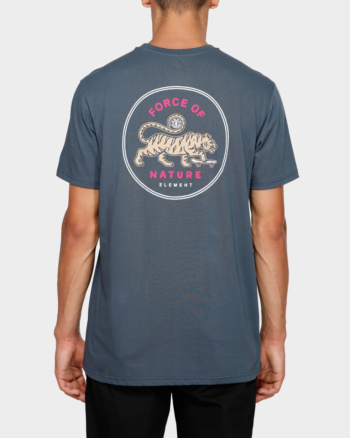 1 Force Of Nature Short Sleeve Tee Blue 193004 Element