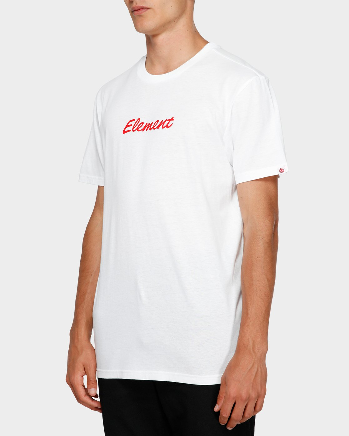 2 Simple Man Short Sleeve Tee White 193012 Element