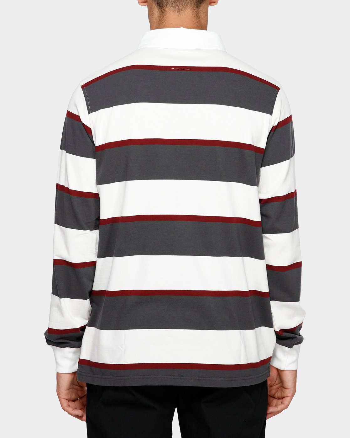 1 Chasin It Rugby Long Sleeve Polo  193151 Element