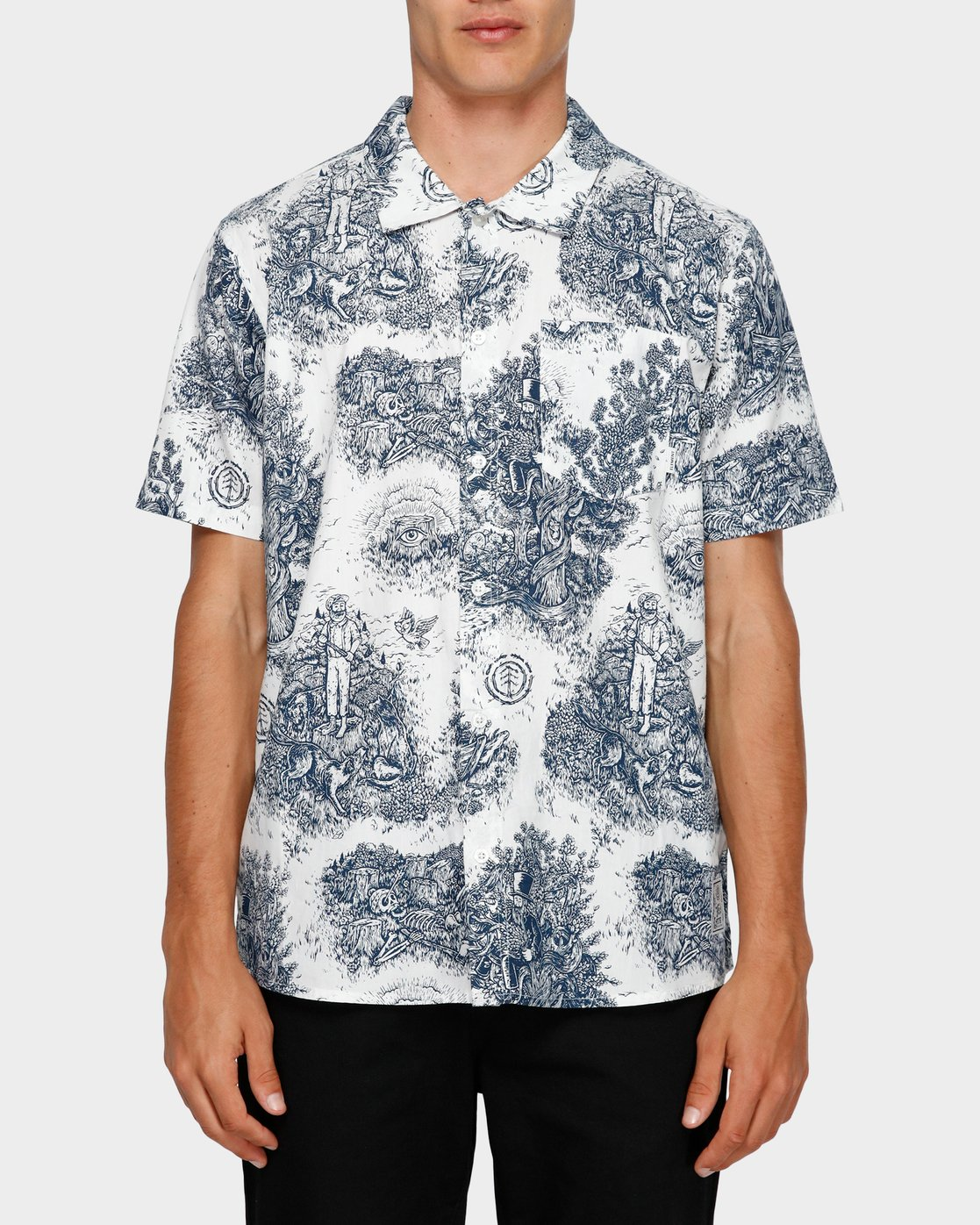 0 Too Late Short Sleeve Shirt  193221 Element