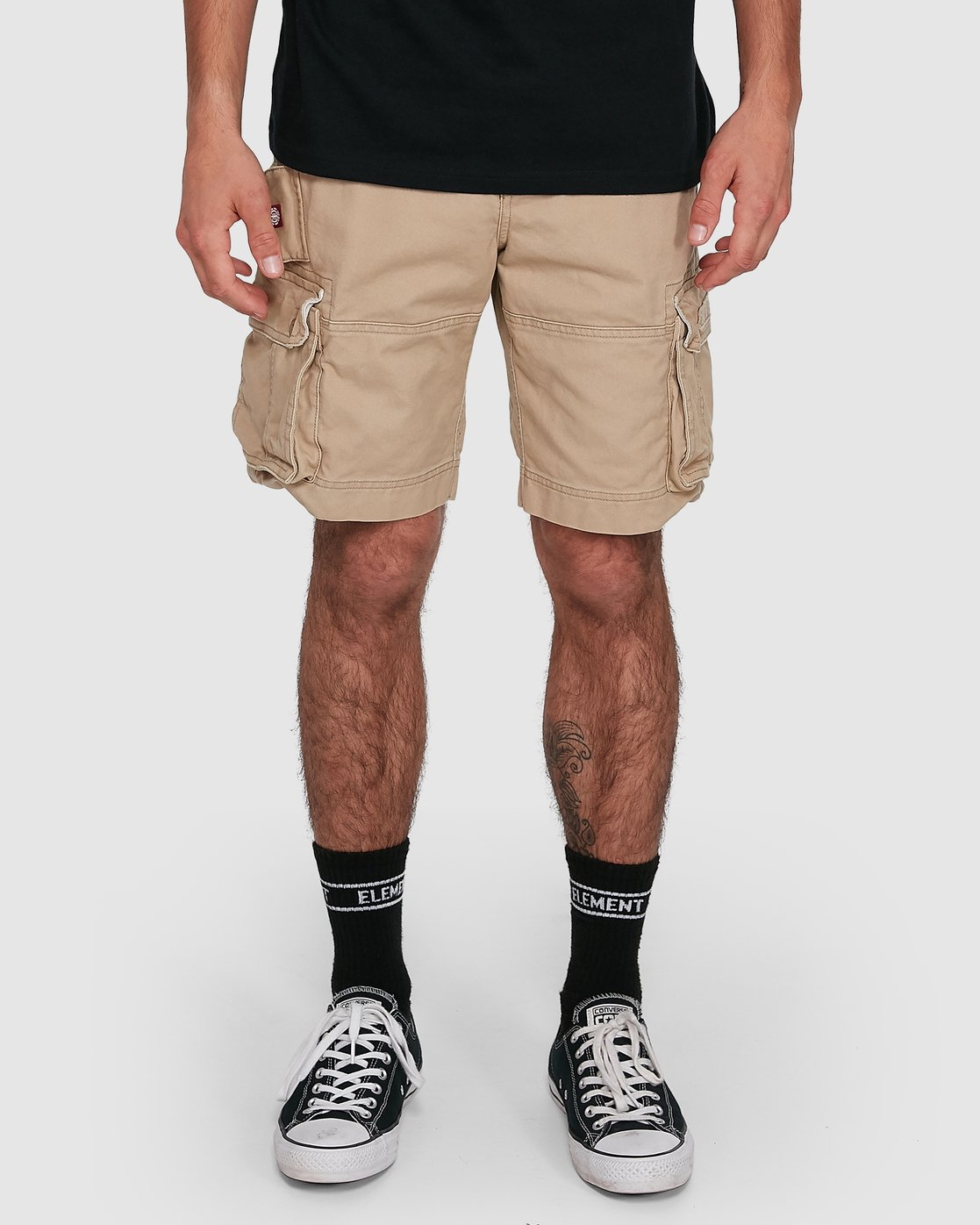 6 Source Cargo Short Green 193351 Element