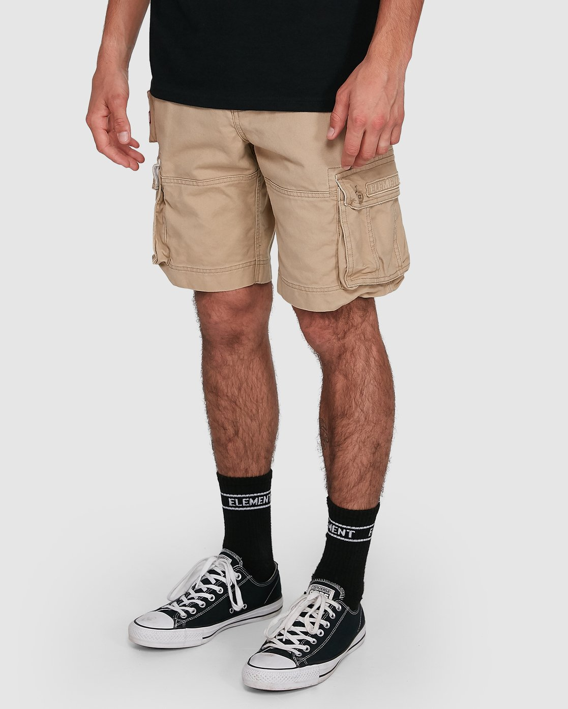 7 Source Cargo Short Green 193351 Element