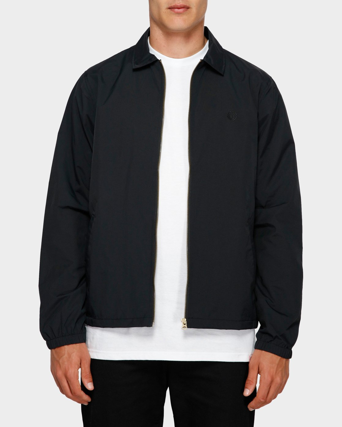 0 Too Late Staff Jacket Black 193458 Element