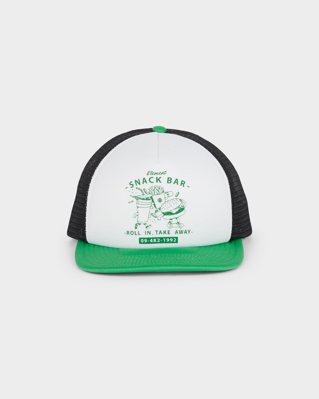 0 Snack Bar Trucker Green 193607 Element