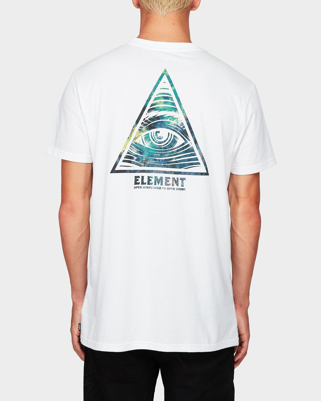 1 Open Minded Tee White 194001 Element