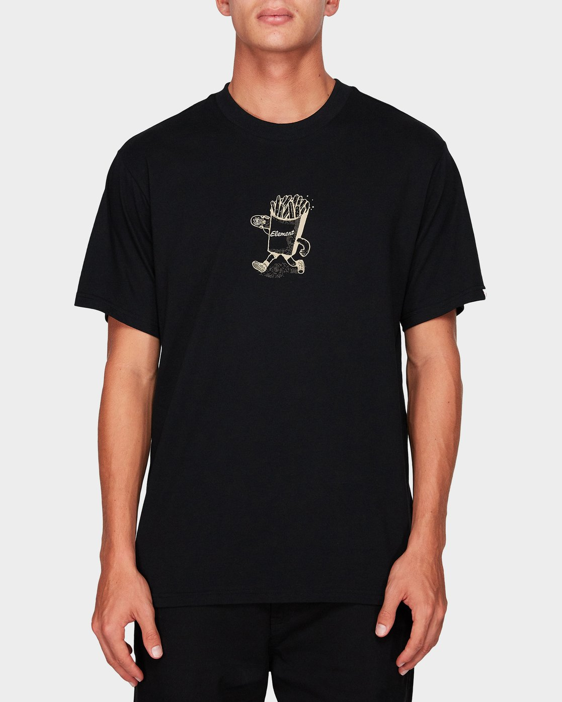 0 Snack Time Ss Tee Black 194006 Element