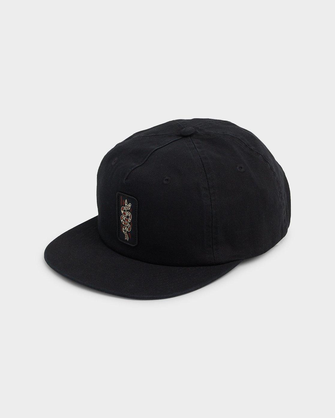 2 SLITHERED CAP Black 194603 Element