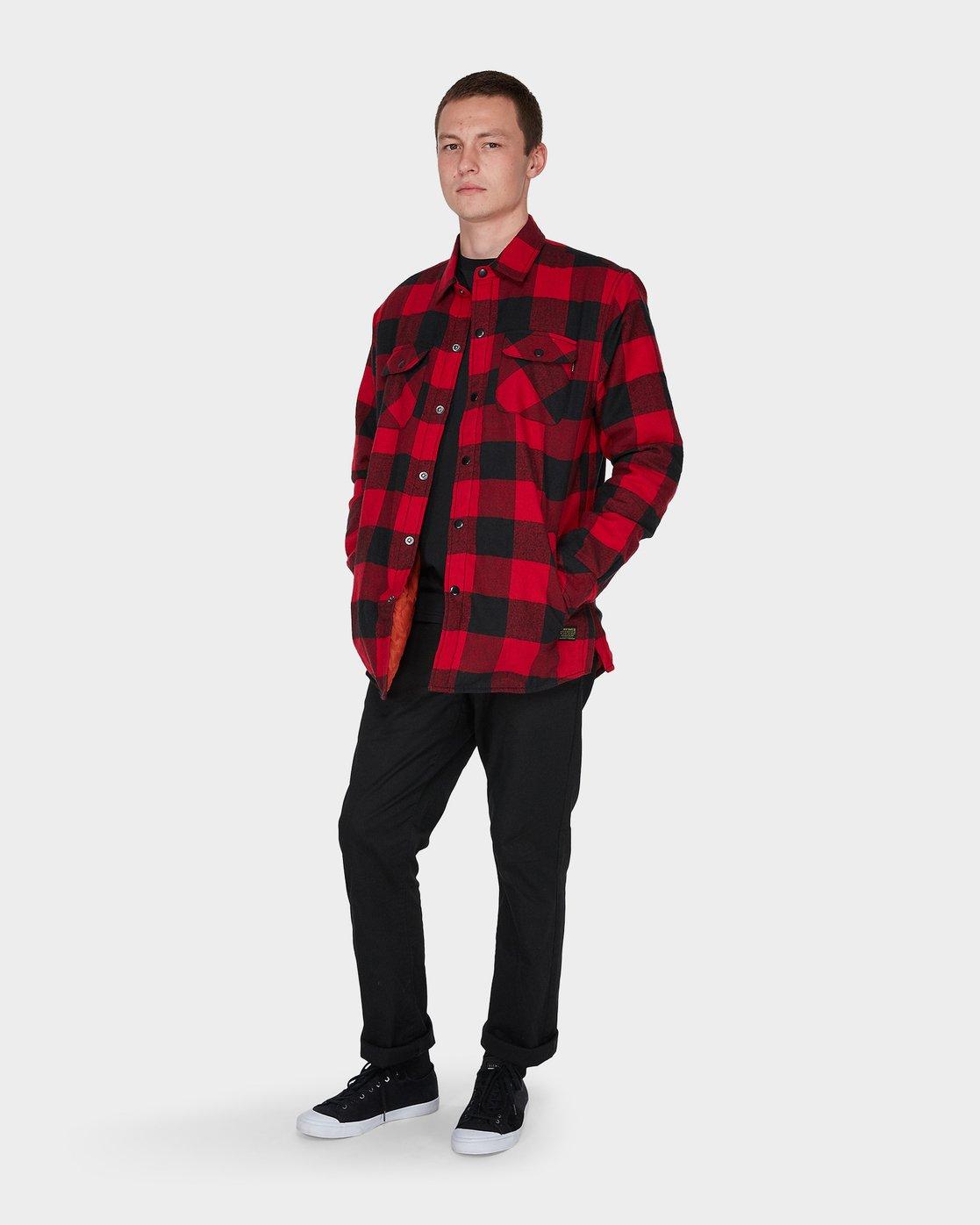 5 Jimbo Flannel Red 196224 Element