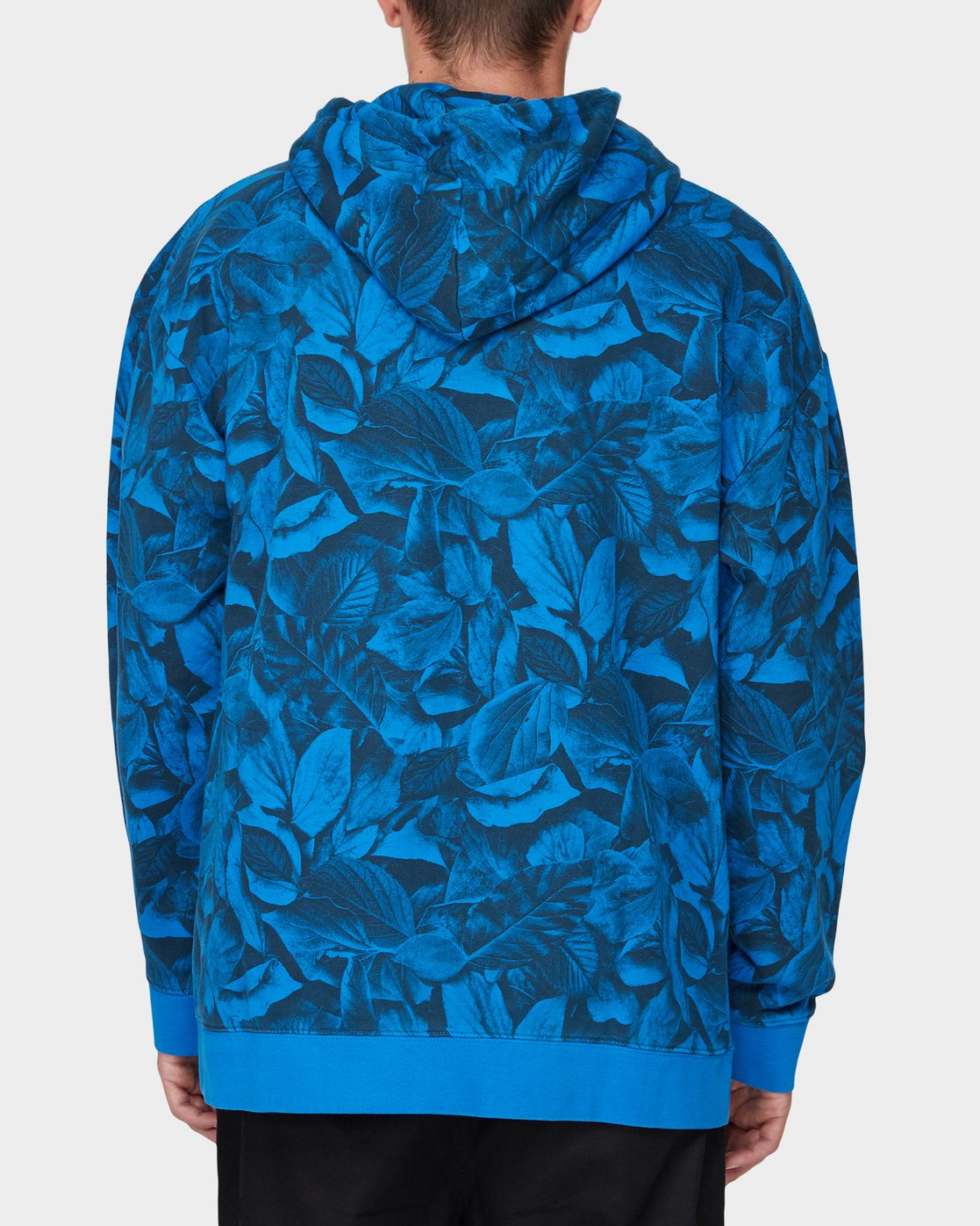 1 GRIFFIN LEAF CAMO HOODED PULLOVER Blue 196321 Element