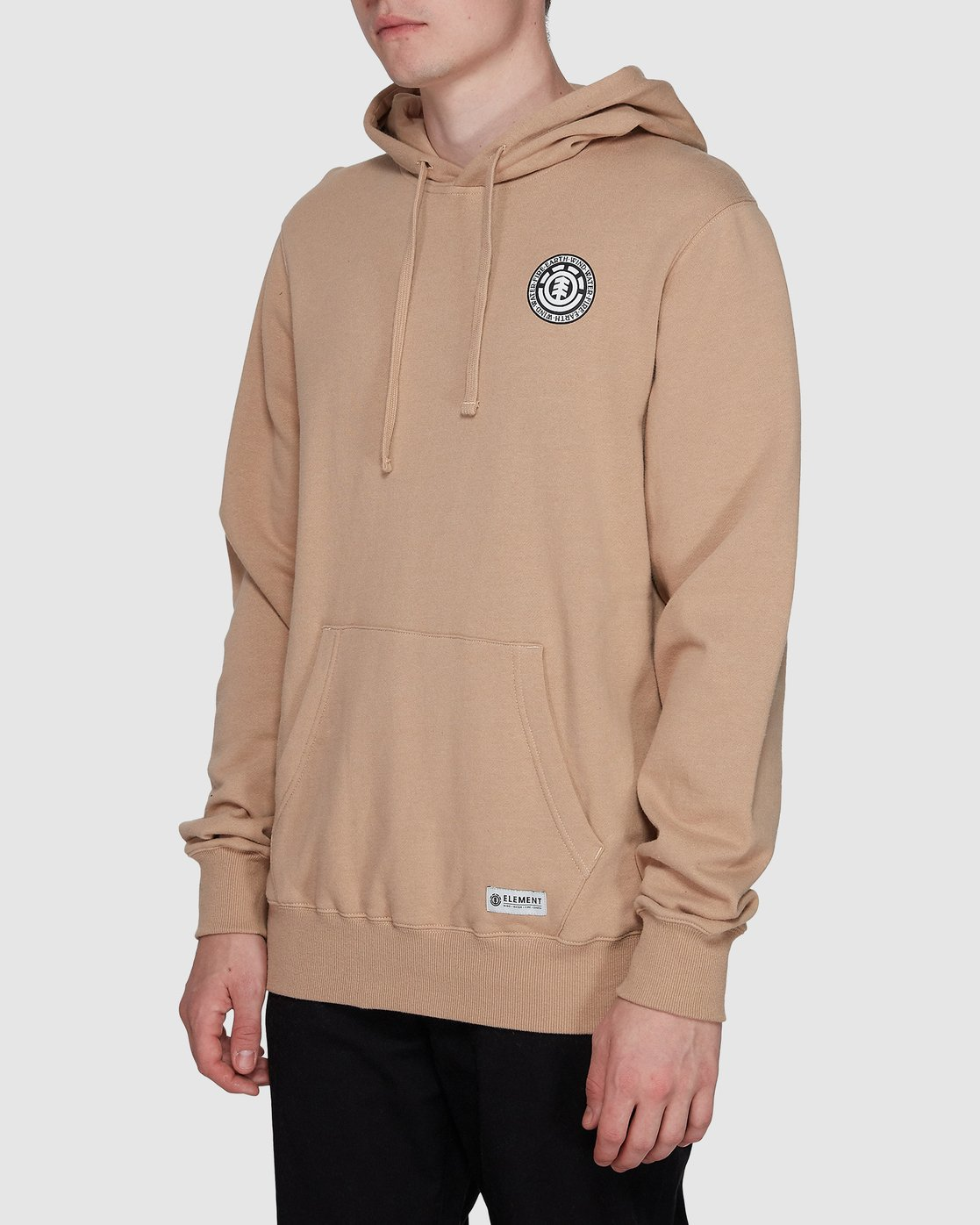 2 Seal Back Hoodie Grey 196325 Element