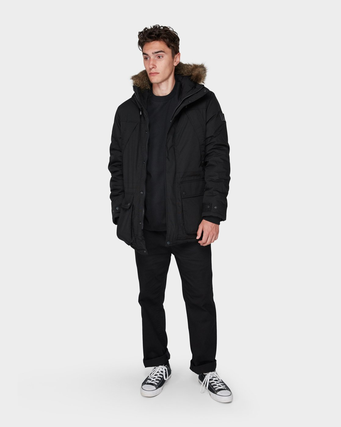 6 FARGO JACKET Black 196462 Element