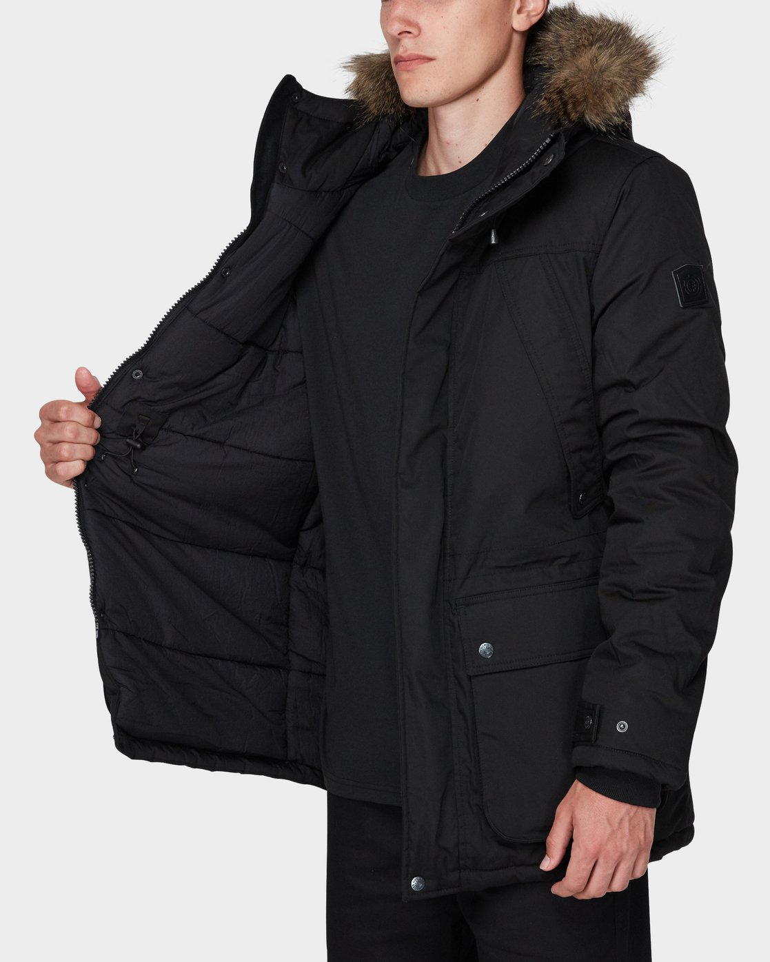 5 FARGO JACKET Black 196462 Element