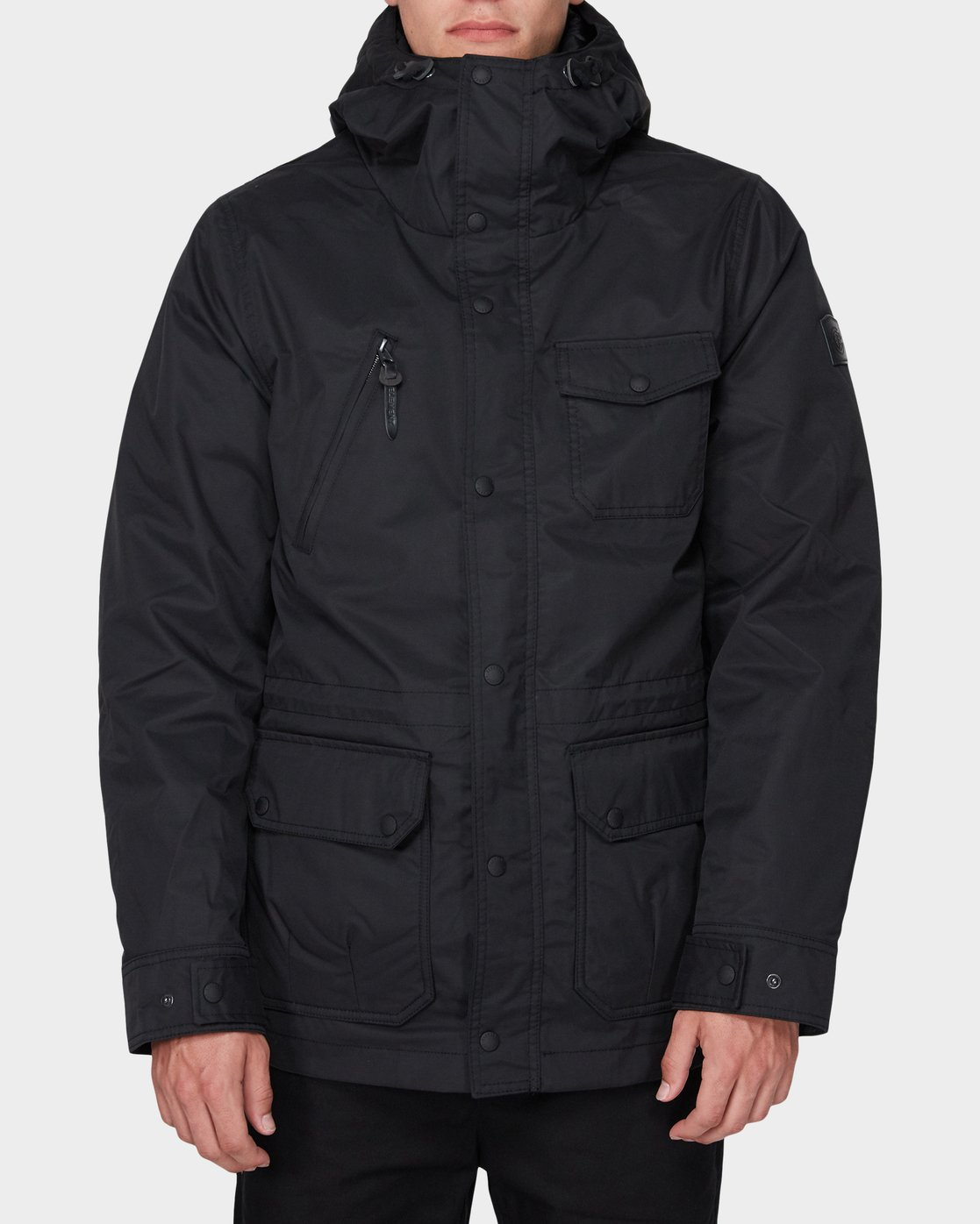 6 LENOX JACKET Black 196463 Element