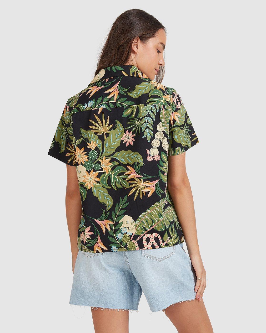 1 So Tropical Shirt Black 205214 Element