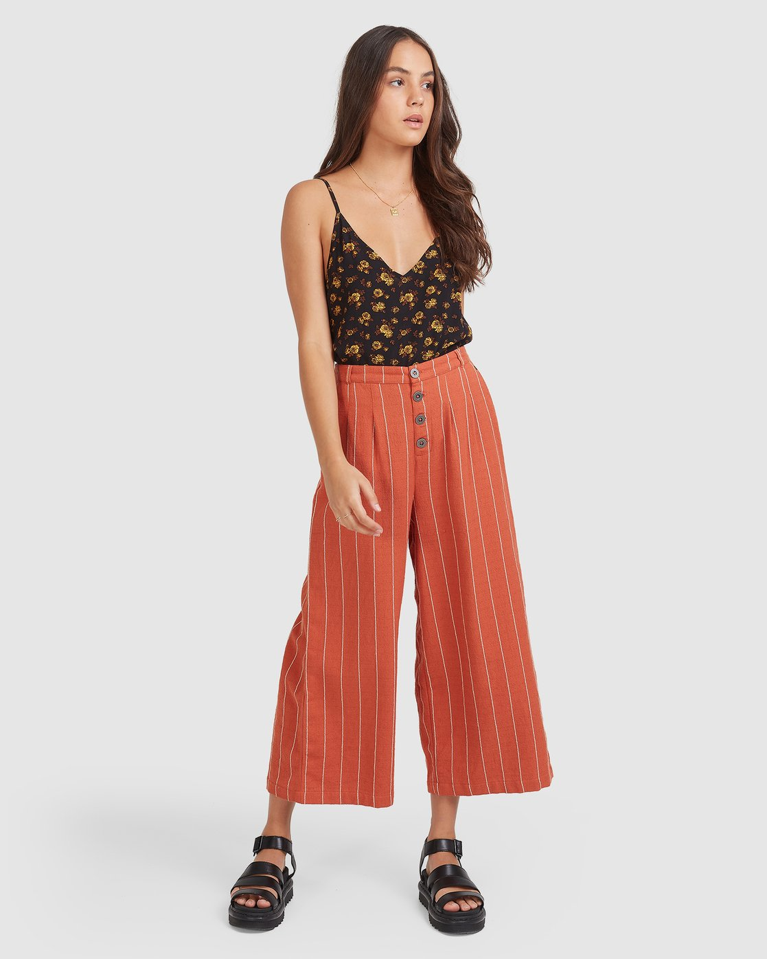 4 Sundays Pant Red 205262 Element