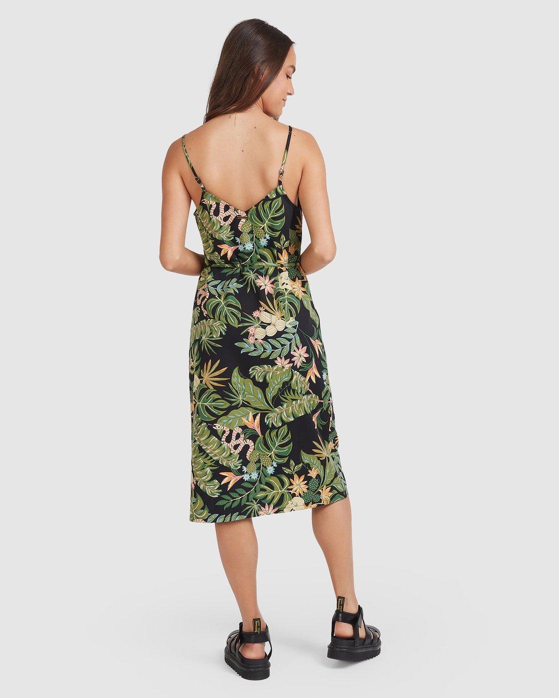 0 So Tropical Dress Black 205869 Element