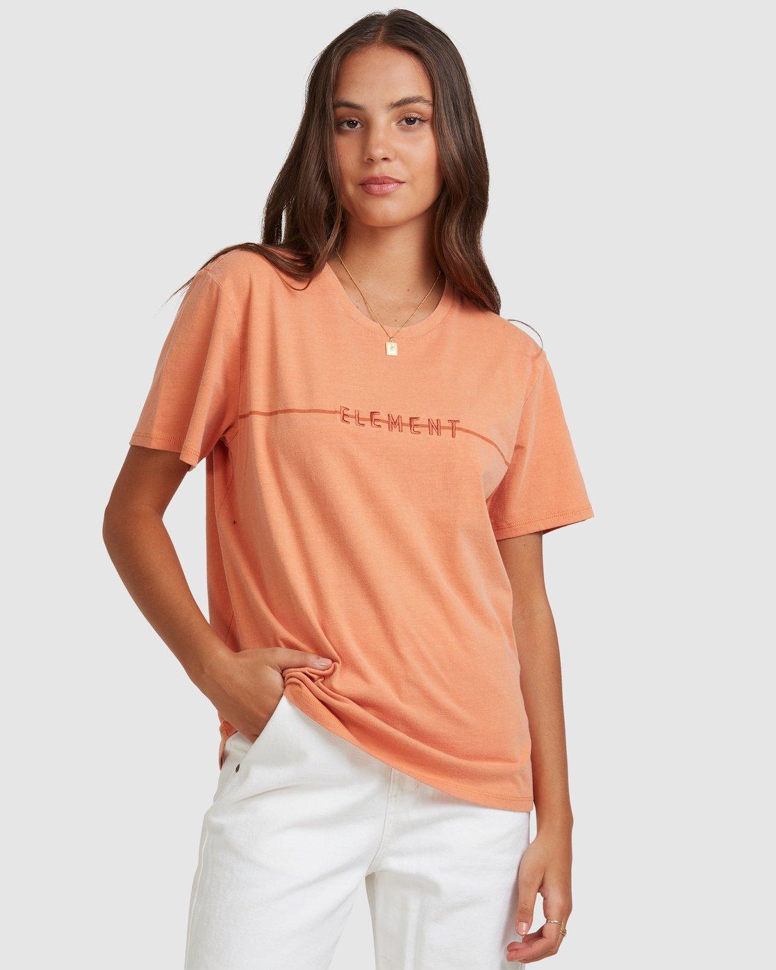 0 LANE TEE Orange 217004 Element