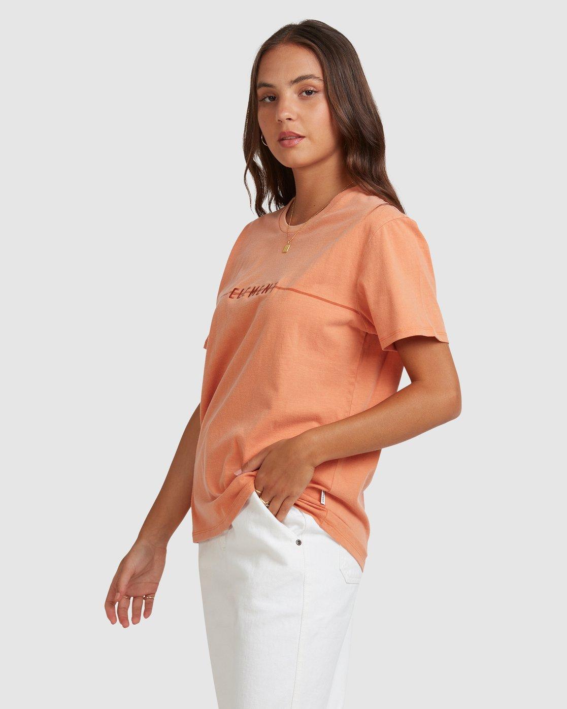 2 LANE TEE Orange 217004 Element